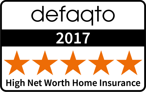 Defaqto (5 Stars) : High Net Worth Home Insurance 2017