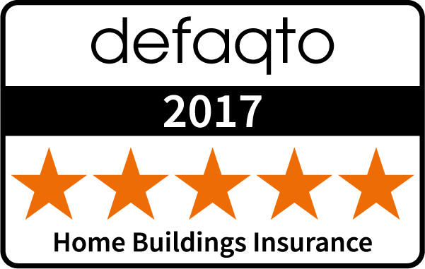 Defaqto (5 Stars) : Home Buildings Insurance 2017
