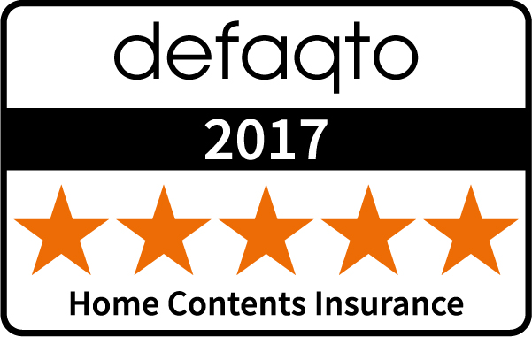 Defaqto (5 Stars) : Home Contents Insurance 2017