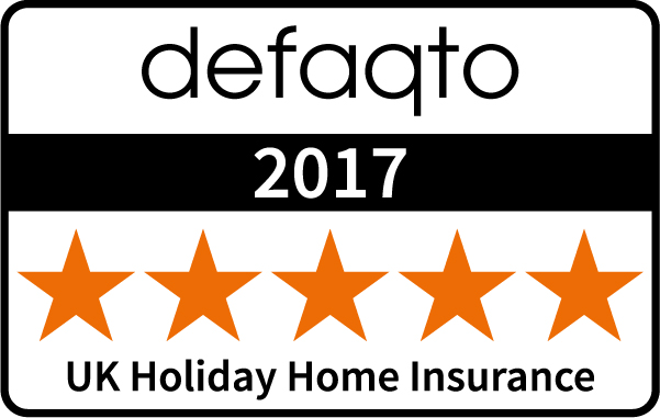 Defaqto (5 Stars) : UK Holiday Home Insurance 2017