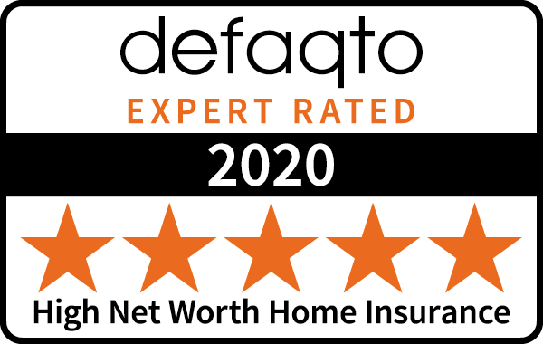 Defaqto (5 Stars) : High Net Worth Home Insurance 2018